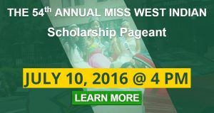 The 54th Annual Miss West Indian Social Club Scholarship Pageant