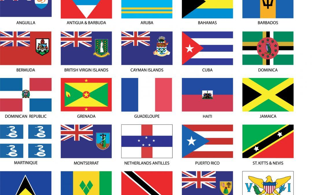 Caribbean Countries Flags & Embassy Services