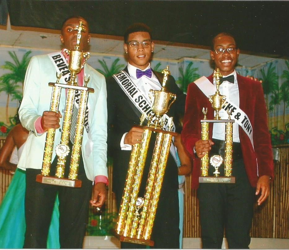 2015 WEST INDIAN SCHOLARSHIP PAGEANT - MALE WINNERS