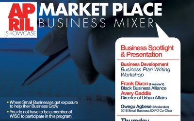 Business Plan Writing Workshop – April 2016 Small Business Mixer
