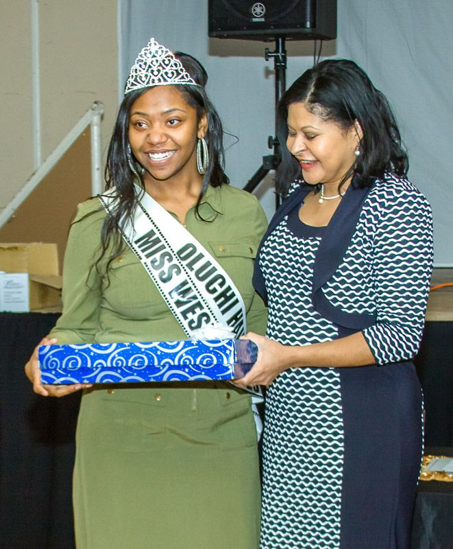 Miss West Indian Social Club - Scholarship Pageant - 2015 - Vaeyanna Lettman