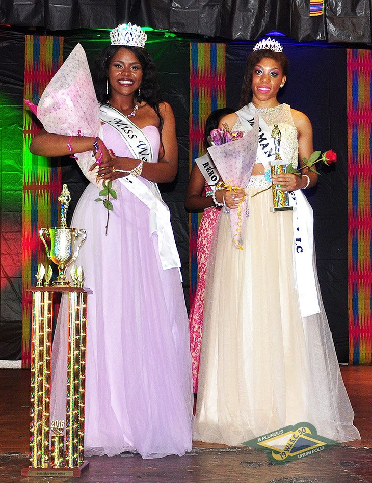 Miss West Indian 2016 - Sydney Kay Barnwell/Brittany Nelson - First Runner-Up