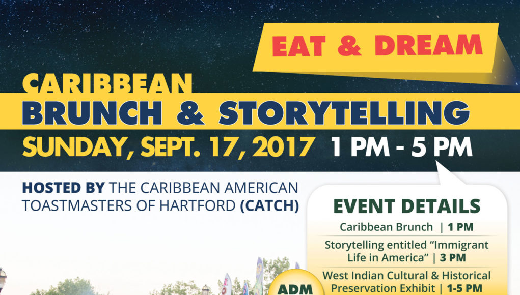 Caribbean Brunch Storytelling & Exhibition - Sunday September 17, 2017