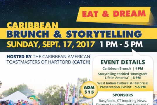 Caribbean Brunch Storytelling & Exhibition - Sunday September 17, 2017