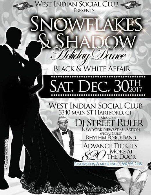 Snowflakes & Shadow Holiday Dance (Black & White Affair) – Celebrate 2017