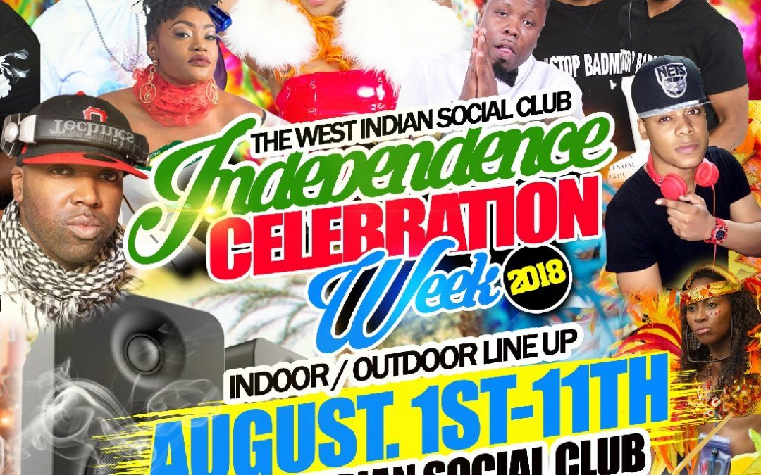 2018 West Indian Celebration Week at the West Indian Social Club