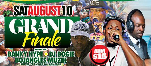 2019 West 2019 West Indian Celebration Week - August 8 - LATIN NIGHTIndian Celebration Week - August 10 - GRAND FINALE