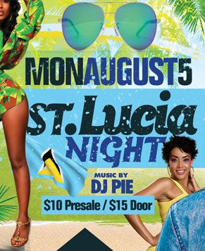 2019 West Indian Celebration Week - August 5 - ST. LUCIA NIGHT