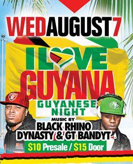 2019 West Indian Celebration Week - August 7 - GUYANA NIGHT