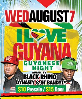 2019 West Indian Celebration Week - August 7 - GUYANA NIGHT
