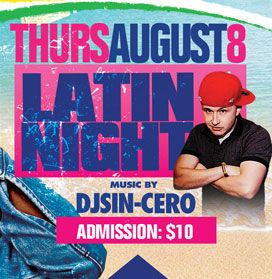 2019 West Indian Celebration Week - August 8 - LATIN NIGHT