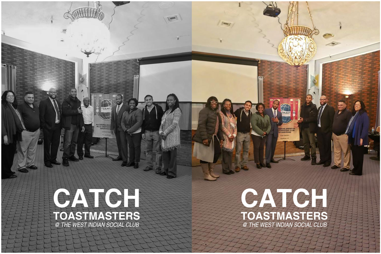 CATCH TOASTMASTERS - THE WEST INDIAN SOCIAL CLUB - PUBLIC SPEAKING & LEADERSHIP DEVELOPMENT
