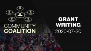 Grant Writing - COMMUNITY COALITION - Virtual Zoom Segment