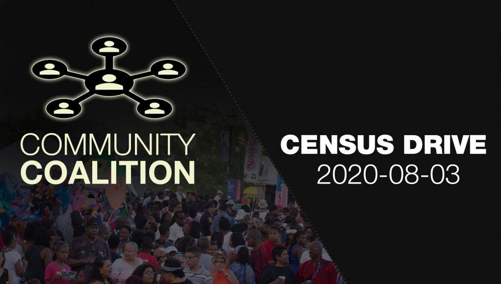 Census Drive - COMMUNITY COALITION - Virtual Zoom Segment