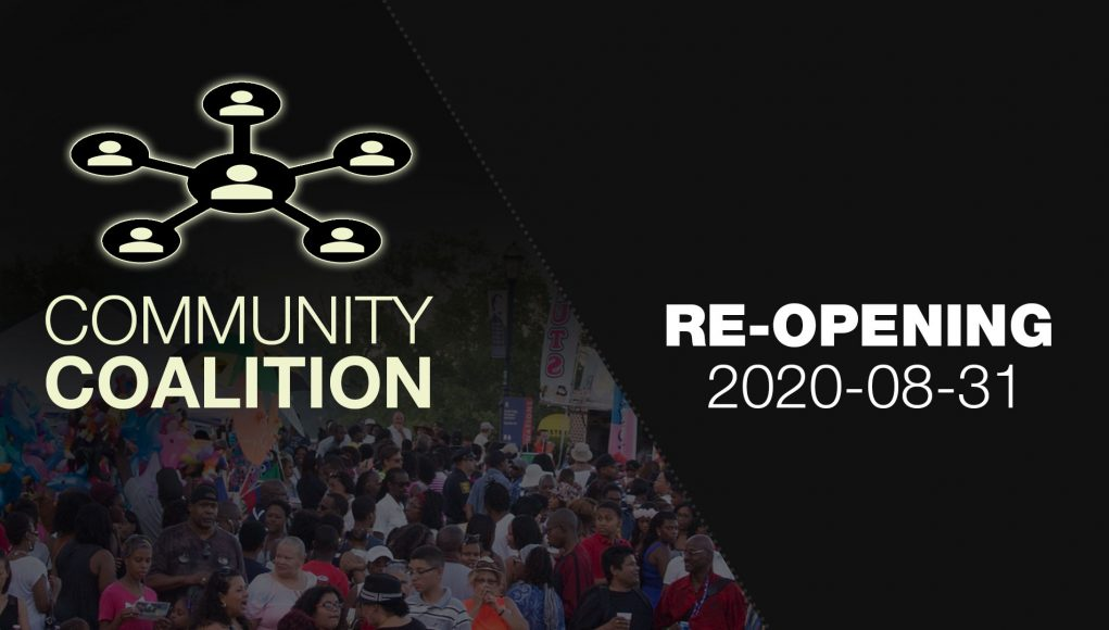 Re-Opening (Covid19) - COMMUNITY COALITION - Virtual Zoom Segment