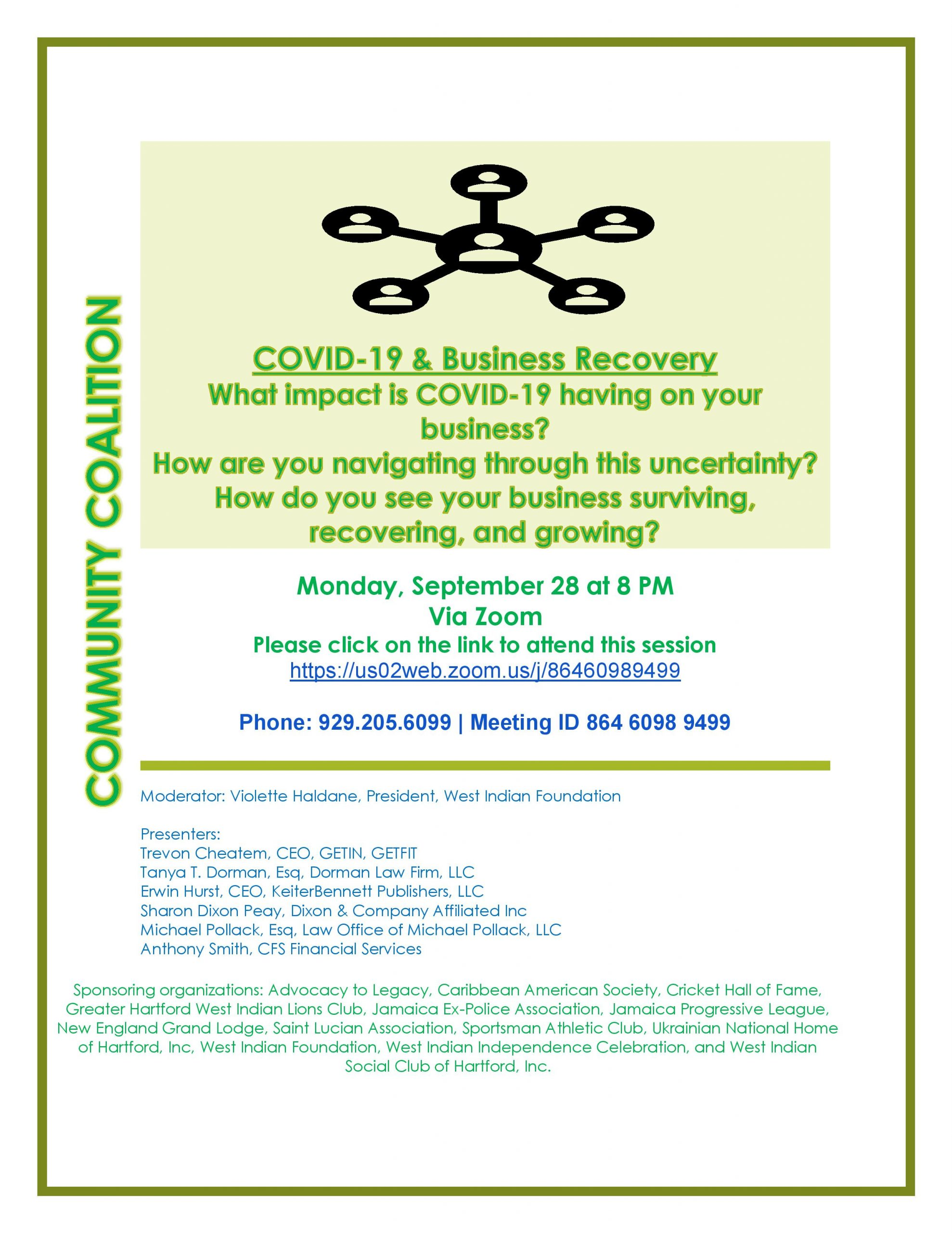 Small Business Marketplace Series: COVID-19 & Business Recovery