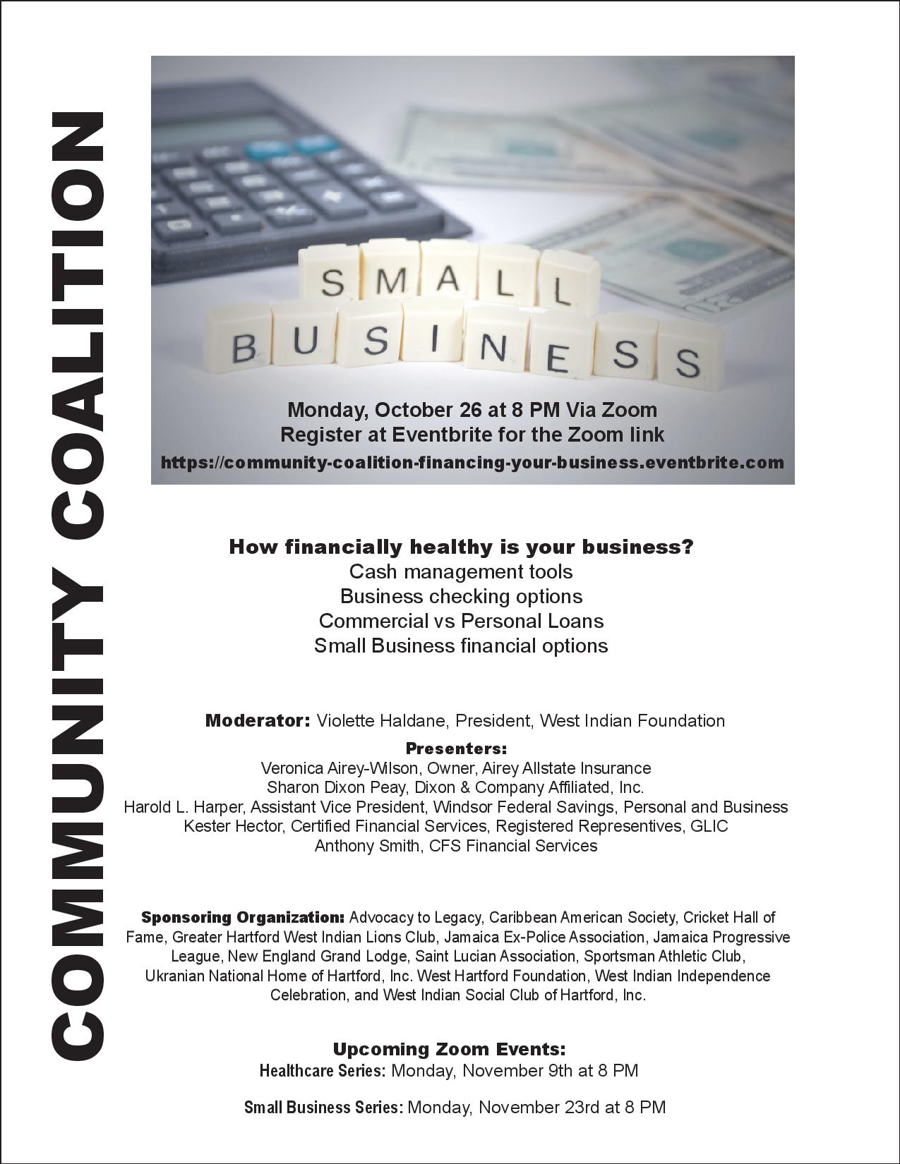 Small Business Series: Financing Your Business