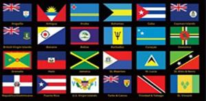 Various Island Flags