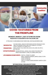 COVID-19 Stories from The Frontline – Part II - 2021.03.01 | Community Engagement - WISCOH