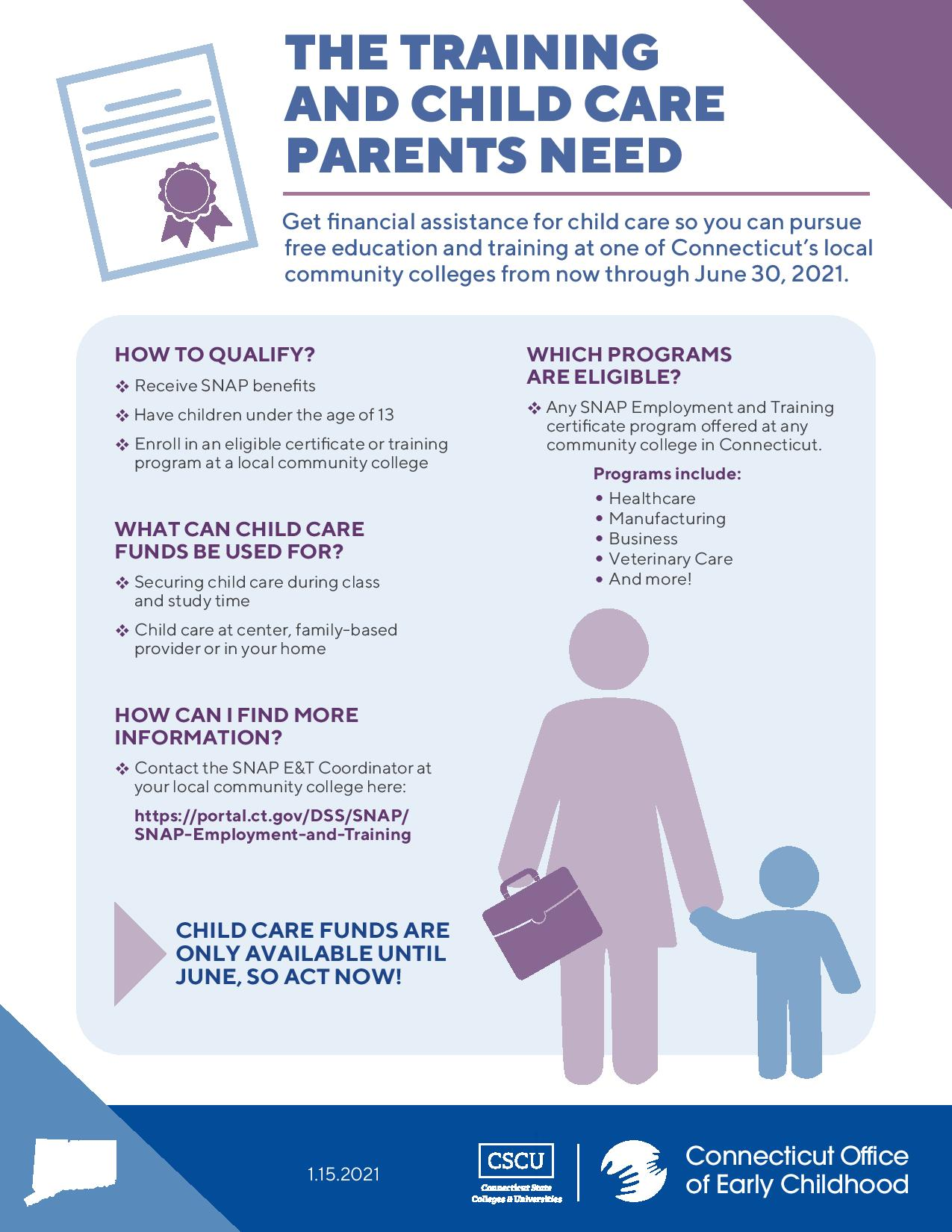 The Training and Child Care Parents Need