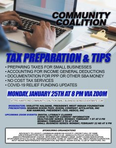 Coalition - Small Business Series - Tax Preparation