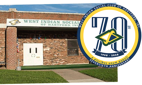 70th Anniversary Logo - Place on the West Indian Social Club's Building photo