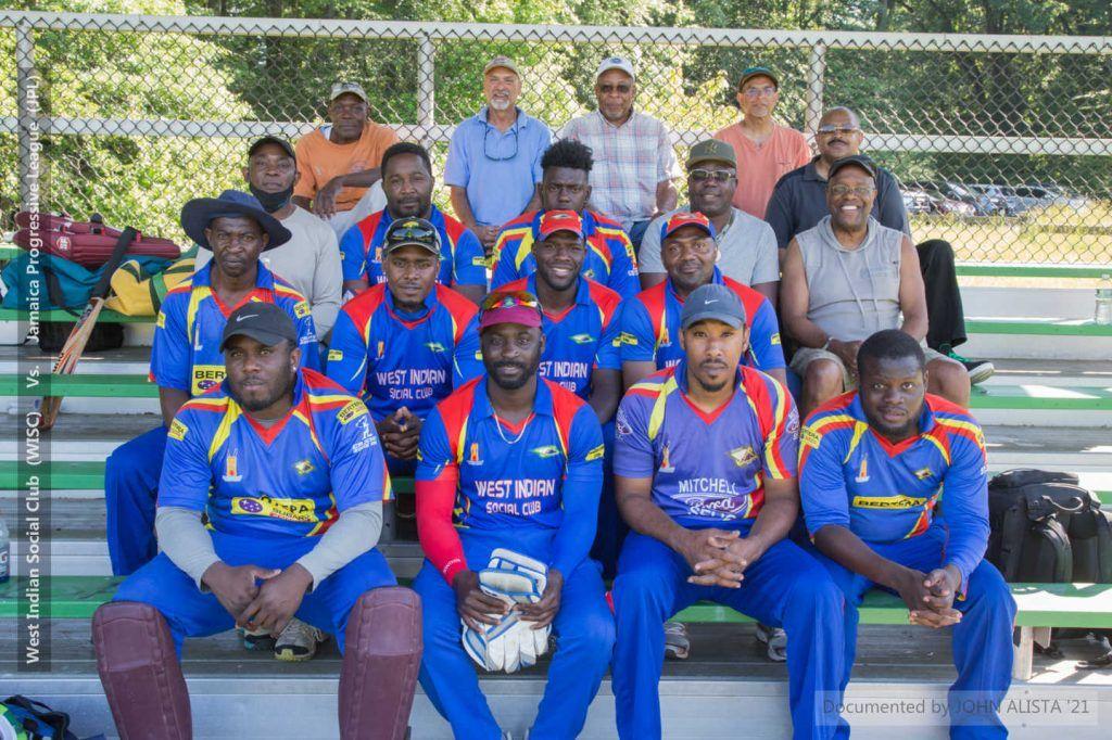 West Indian Social Club (WISC) Vs. Jamaica Progressive League (JPL) - 2021 Connecticut Cricket League