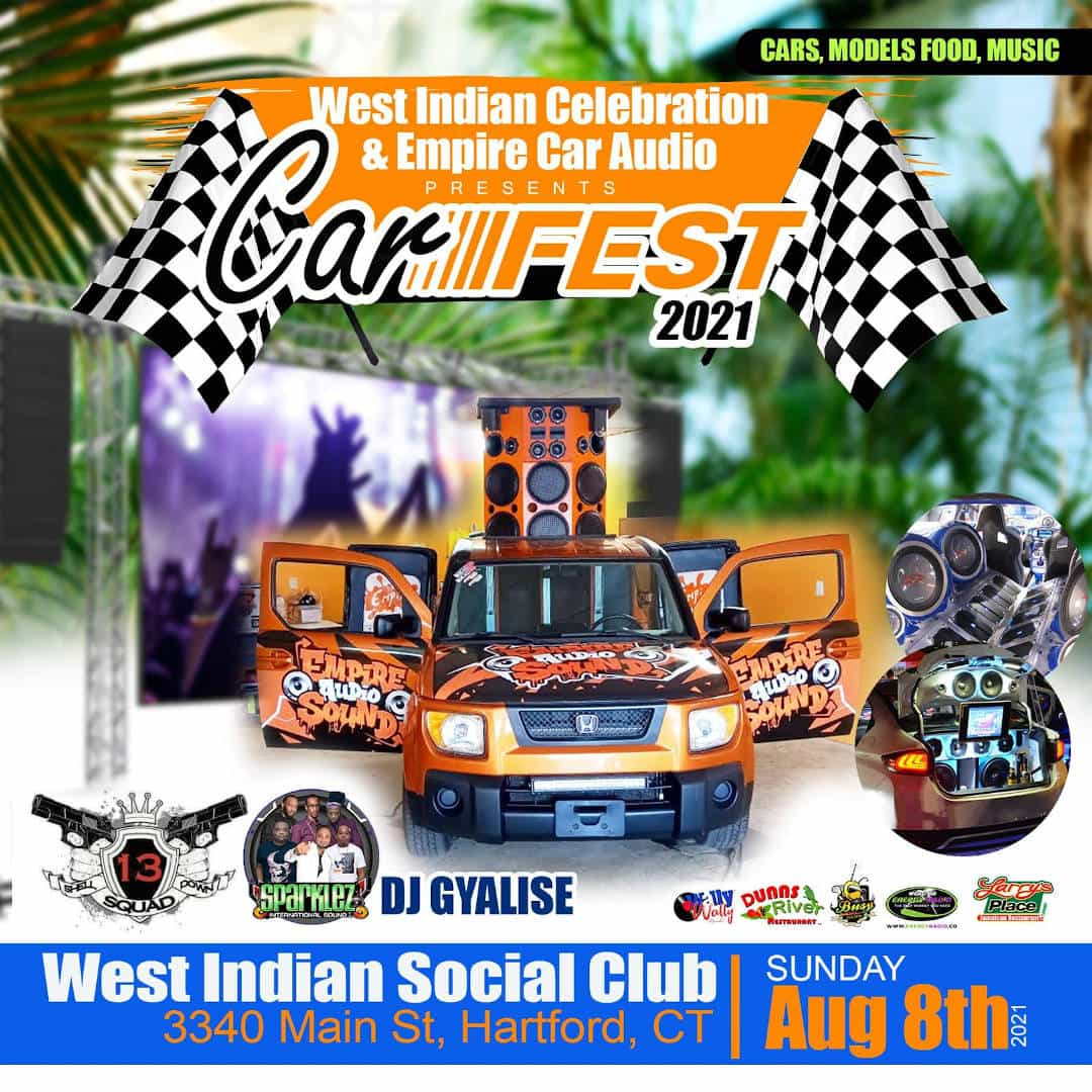 2021 HARTFORD CT Celebration Week -  CARFEST 2021 - Sunday August 8th 2021