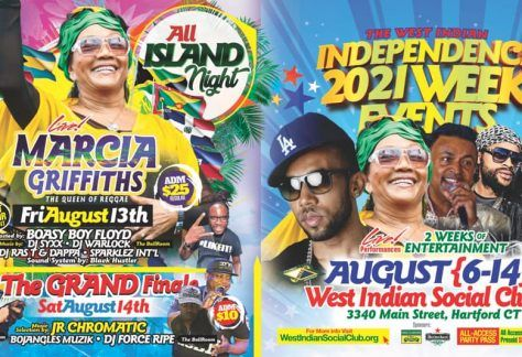 Hartford Celebration Week 2021 - West Indian Independence Week - CHAM, Marcia Griffiths, and much more