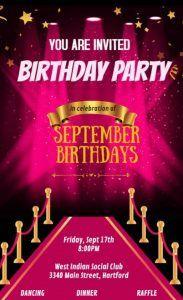 Community Birthday Friday - September 2021