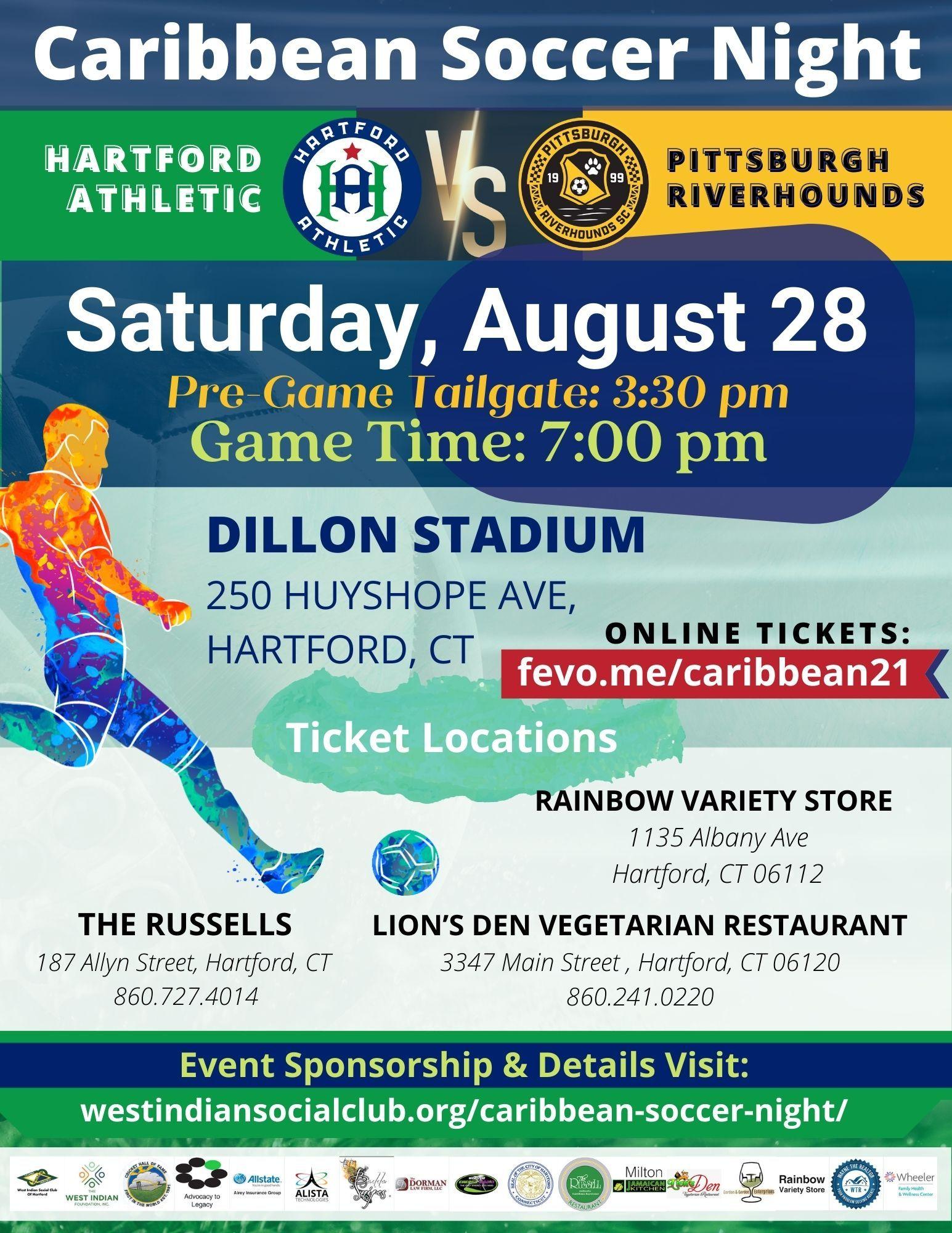 caribbean soccer night ticket locations