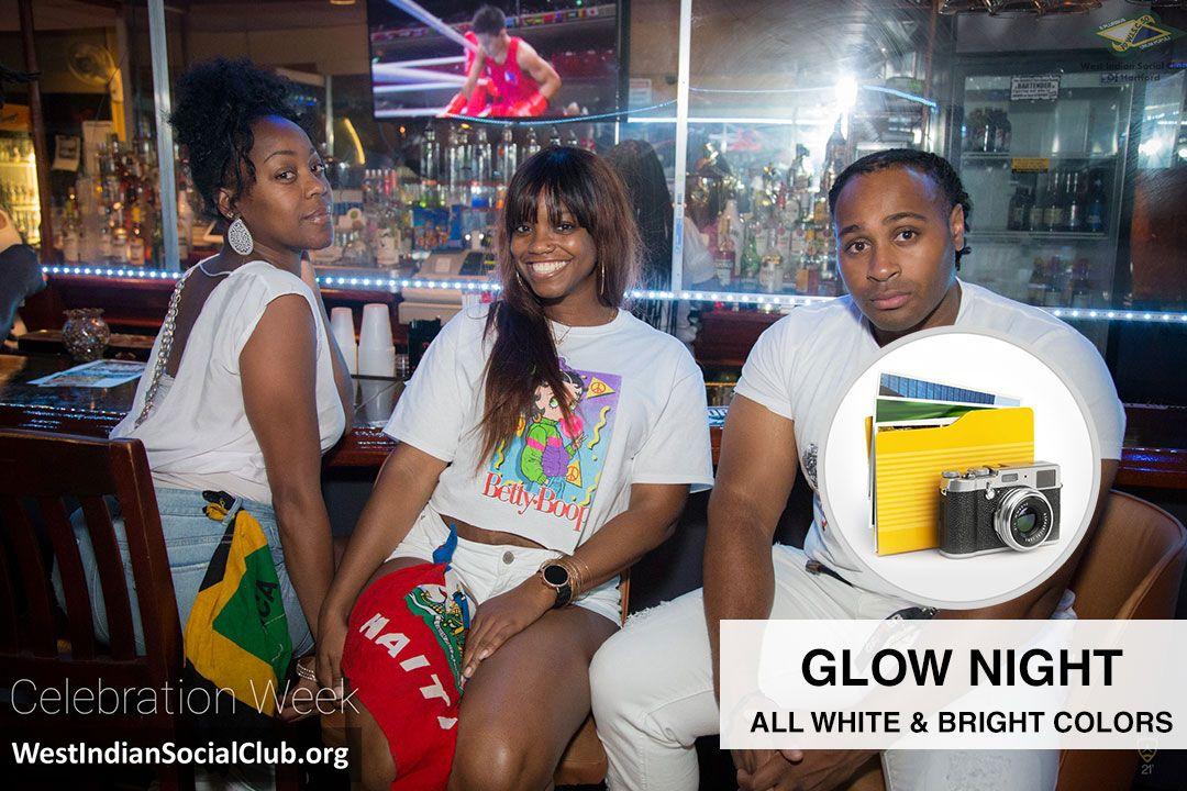 Hartford CT Celebration Week - ALBUM COVER - Glow Night