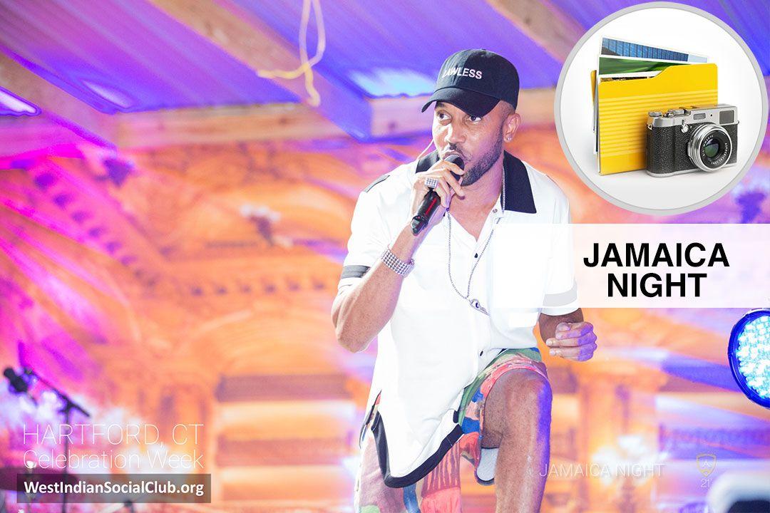Hartford CT Celebration Week - ALBUM COVER - Jamaica Night