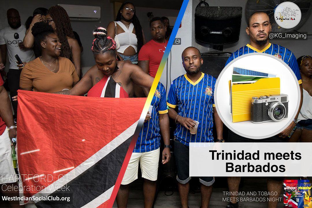 Hartford CT Celebration Week - ALBUM COVER - Trinidad Meets Barbados